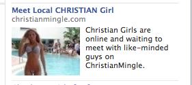 Christian Mingle Bikini