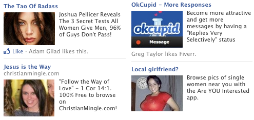 Free dating advertising