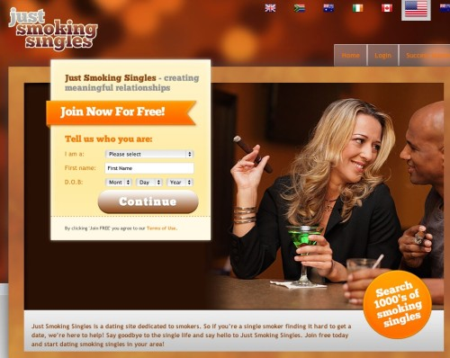 Free smoking dating sites