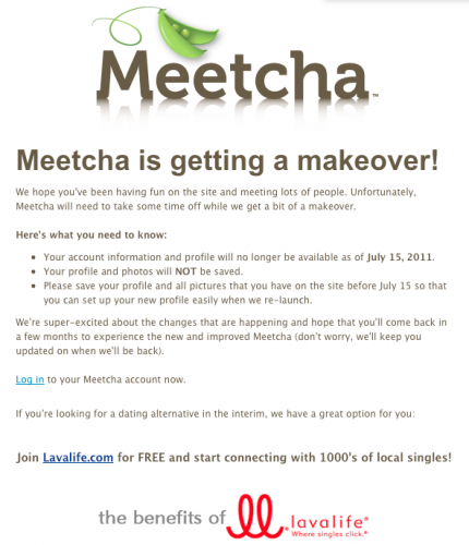Meetcha acquired by Lavalife
