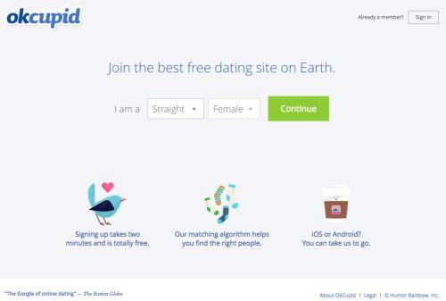 OkCupid hates SEO
