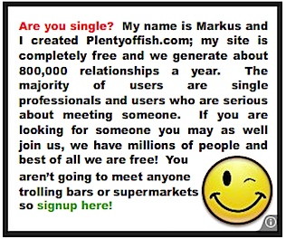 Plenty fish dating service
