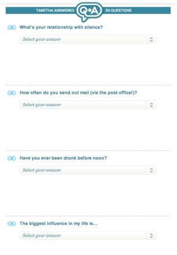 eharmony questions