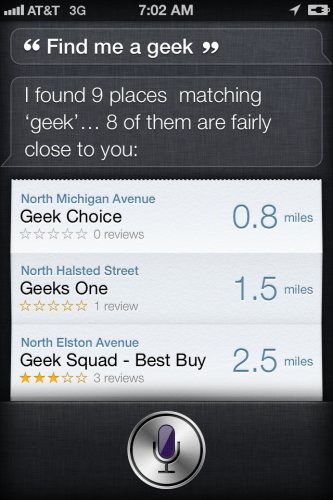Siri or Facebook Graph Search