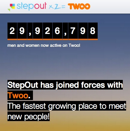 Stepout joins twoo
