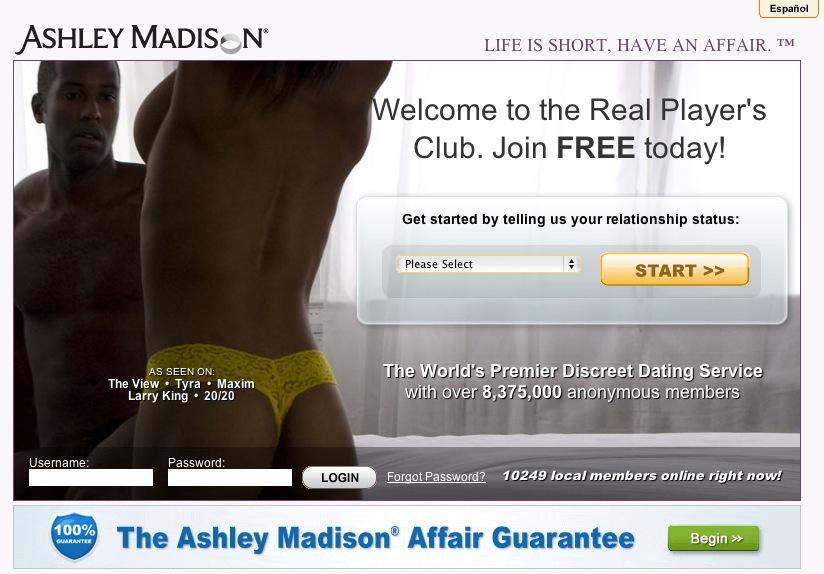 Ashley madison affair guarantee