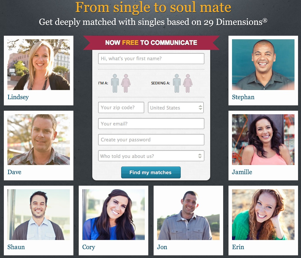 Dating on eharmony